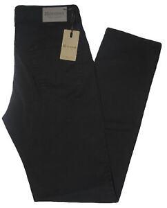 Pantalone-uomo-jeans-HOLIDAY-46-48-50-52-54-56-58-60-cotone-estivo-nero-ETAN