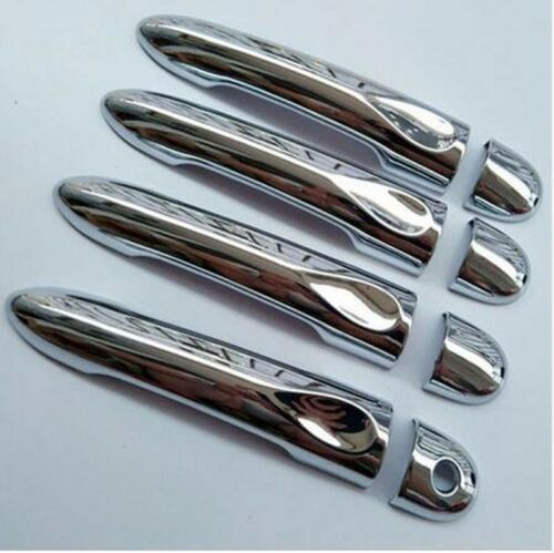 2010Up Renault Megane III 3 Chrome Door Handle Cover 4Door S.STEEL