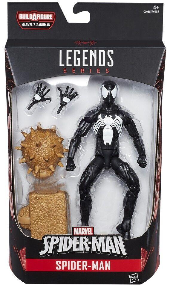 Marvel - legenden sandmann - serie symbiont spider - man - action - figur