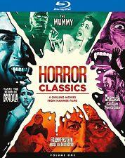 HAMMER HORROR CLASSICS Volume 1  -Blu Ray - Sealed Region free for UK