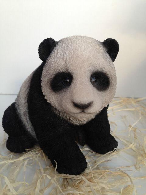 Panda Cub Bear Vivid Arts Garden Ornament Indoor Outdoor