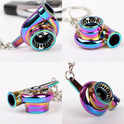 Car Tuning Parts Key Chain Turbo Turbine Nos Gearshift Keychain Keyring see desc