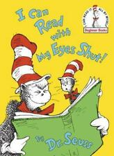 Beginner Books: I Can Read with My Eyes Shut! by Dr. Seuss (1978, Hardcover)