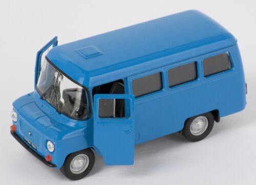 Spedizione LAMPO Nysa 522 Polonia PRL Blu//Blue Welly Modello Auto 1:34 NUOVO /& OVP