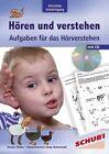 Hören und Verstehen Vorschule und Schuleingang von Ursula Thüler (2009, Taschenbuch)