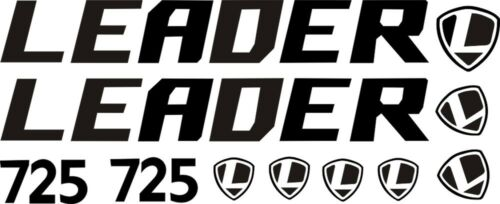 mtb bmx die-cut LEADER 725 Road Bike Sticker In Bicycle Frame Decals DH cycling