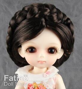 New-Dollfie-Lati-Yellow-Pukifee-5-6-034-Doll-Wig-Deep-Brown