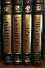 Easton Press - Religions set - Buddhism, Islam, Protestantism, Hinduism
