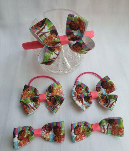 Moana headband clips set 5 pcs hair band