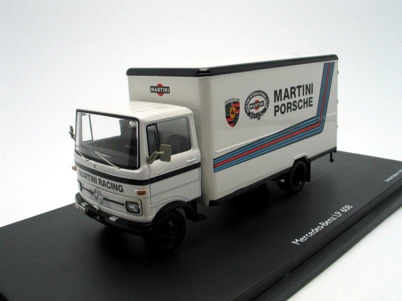 1 43 Mercedes LP608 Martini bianca Porsche - Schuco 03520