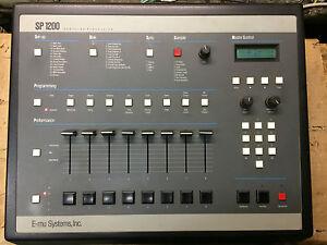 Emu-SP1200-Sampling-Drum-Machine-SP-1200-Black-reissue-e-mu-vintage-7030-ARMENS