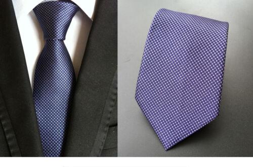 Elegant 11 Patterns 8CM Men/'s Classic Tie Silk Necktie Neckwear Jacquard Striped