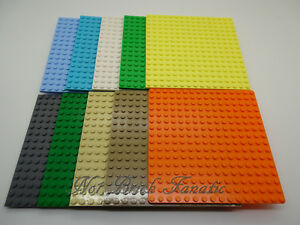 Lego-Base-Boards-Baseplate-Loads-of-Colours-amp-Sizes-200-NEW-ONES-ADDED