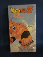 Dragonball Z Fusion Play For Time Vhs Sealed