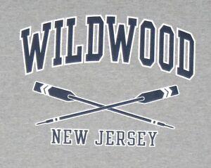 NEW-JERSEY-SHORE-WILDWOOD-NEW-JERSEY-BEACH-FRUIT-OF-THE-LOOM-T-SHIRT-XXL-2XL