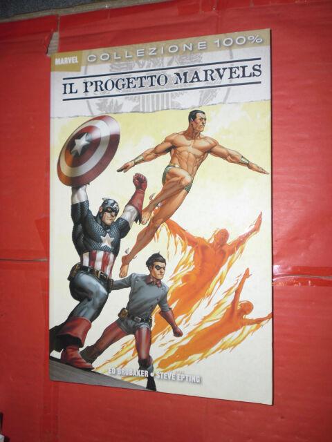 COLLEZIONE 100% MARVEL IL PROGETTO MARVELS Ed brubaker DI:steve  Panini comics