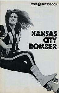 RAQUEL-WELCH-KANSAS-CITY-BOMBER-1972-16-pgs-Unfolded-Uncut-MGM