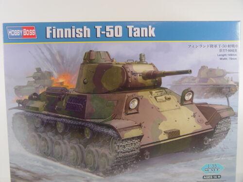 Hobbyboss Bausatz 1:35-83828 #E Finnischer T 50 Panzer