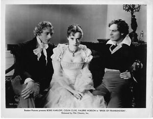 1935 THE BRIDE OF FRANKENSTEIN BLACK AND WHITE 8x10 classic PHOTO 2c !!!