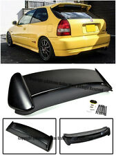 For 96-00 Honda Civic EK9 3Dr ABS Plastic Type R JDM Rear Roof Wing Spoiler Lip