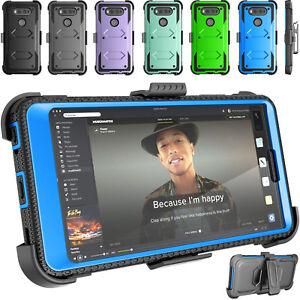 buy popular 2d23d d4d5f Details about For LG V20 Case Shockproof Clip Kickstand Screen Protector  Hybrid 360° Cover