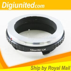 Nikon-S-RF-mount-lens-to-Leica-M-L-M-LM-mount-adapter-M5-M6-M7-M8-M9-Ricoh-M240