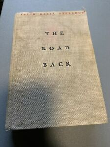The-Road-Back-by-Erich-Maria-Remarque-1931-1st-First-American-Edition-Hardcover