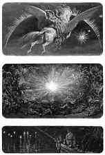 Gustave Dore gigantón Pantagruel 114 A4 Foto impresión