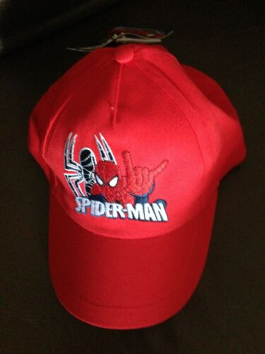 Cotton kids boys summer sun baseball cap caps hat hats spiderman  2-4YRS,4-6YRS