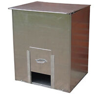 Parasene Galvanised Steel Coal Bunker No.3 Fuel Salt Feed Corn 3cwt Storage
