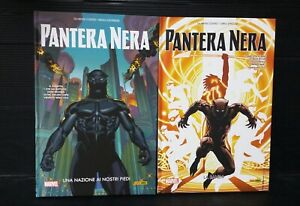 S1-PANTERA-NERA-Marvel-cartonati-1-e-2-Panini-Comics