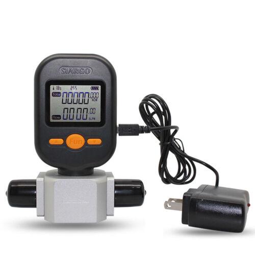 Digital Compressed Air Gas Flow Meter Electronic Mass Nitrogen Oxygen Metering