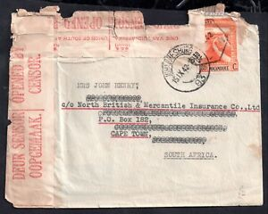 Mozambique-1942-tatty-but-interesting-censored-cover-to-South-Africa-WS11845
