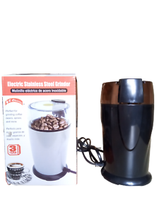 BI-Classics-ELECTRIC-COFFEE-Beans-Seeds-Spice-Nuts-GRINDER-Stainless-Steel