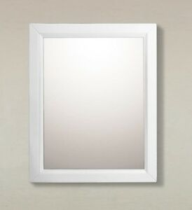 Details About Bellaterra Home Mirror Surface Mount Medicine Cabinet 24 Inch Wood White
