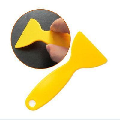 New Plastic Car Sticker Scraper Snow Shovel Phone Sticker Scraper Blade Tools -Q