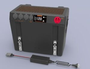 ANTPAK DC20 BATTERY BOX DC/SOLAR CHARGER AND AC CHARGER