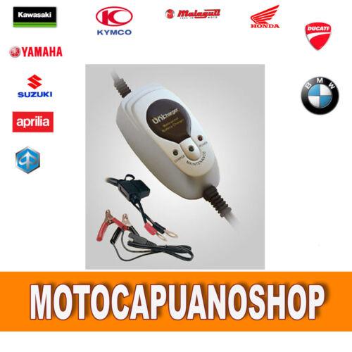 MANTENITORE CARICA BATTERIE caricabatteria UNICHARGER auto moto scooter