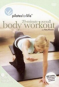 Pilates-for-Life-20-Minute-Overall-Workout-by-in-Used-Very-Good