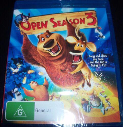 1 of 1 - Open Season 3 (Australia Region B) Bluray - NEW