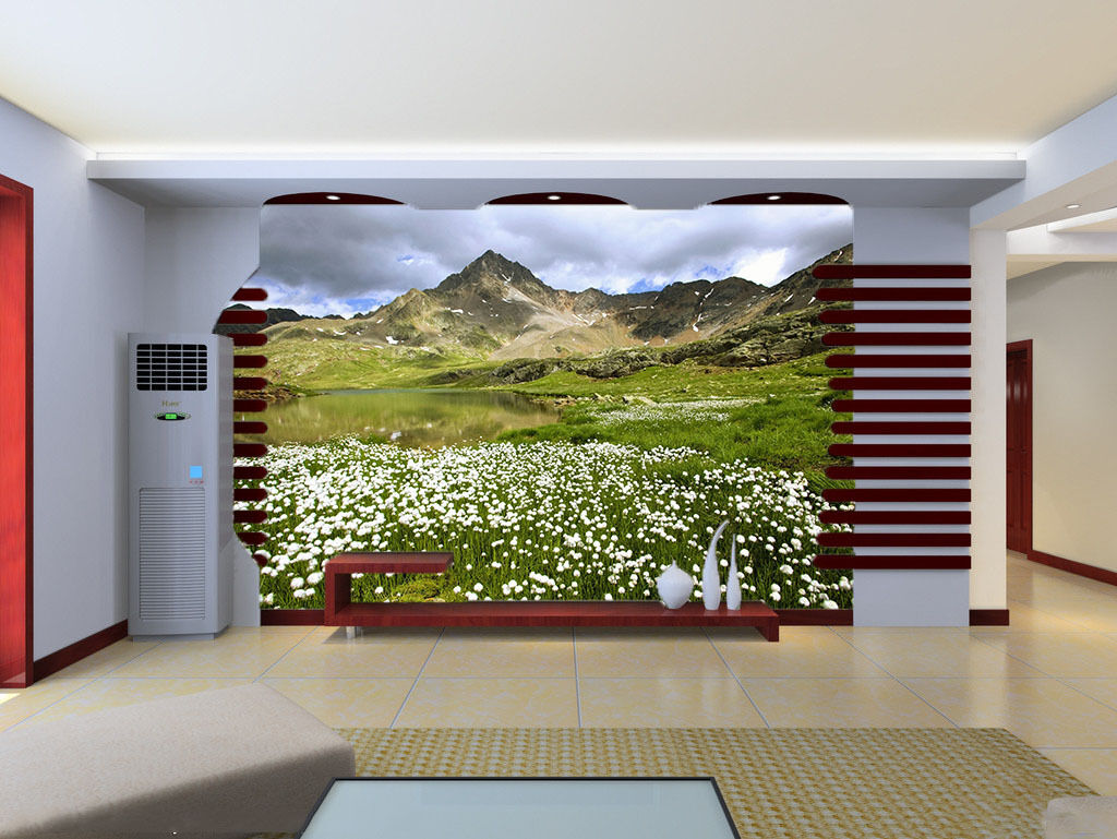 3D whiteen blüten erde 176 Fototapeten Wandbild Fototapete BildTapete Familie DE