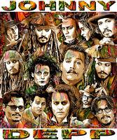 johnny Depp Tribute T-shirt Or Print By Ed Seeman