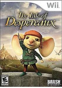 Tale of Despereaux Nintendo Wii Kids Game U