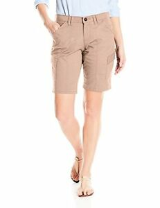fbb30ef4 Image is loading Lee-Womens-Collection-3772913-Midrise-Fit-Henley-Bermuda-