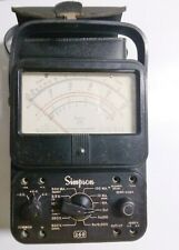Simpson 260 Series 6 Vom Multimeter And Case No Leads Not Sold As Working