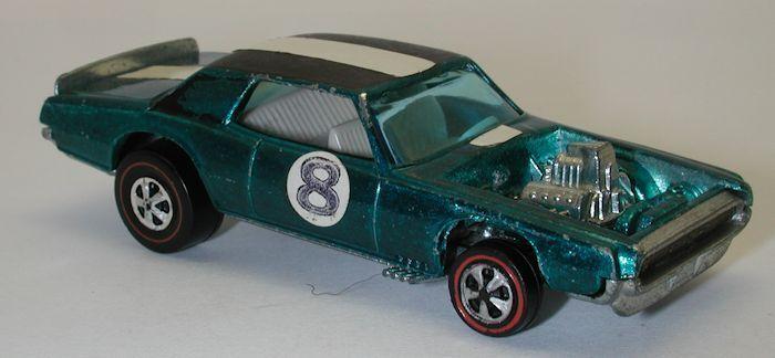 rojoline Hotwheels Aqua 1970 Tnt Bird oc9321