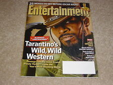 JAMIE FOXX DJANGO UNCHAINED #1238 December 21 2012 ENTERTAINMENT WEEKLY MAGAZINE