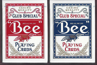 12 DECKS Bee No. 92 Club Special classic playing cards NEW IN CELLO!