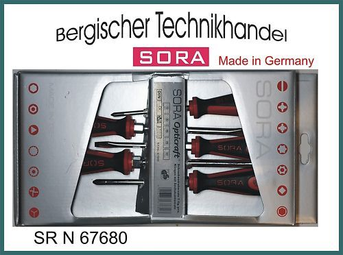 Sora Opticraft 67680 Jeu de tournevis 5 pièces