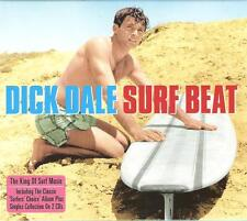 DICK DALE SURF BEAT - 2 CD BOX SET - THE KING OF SURF MUSIC